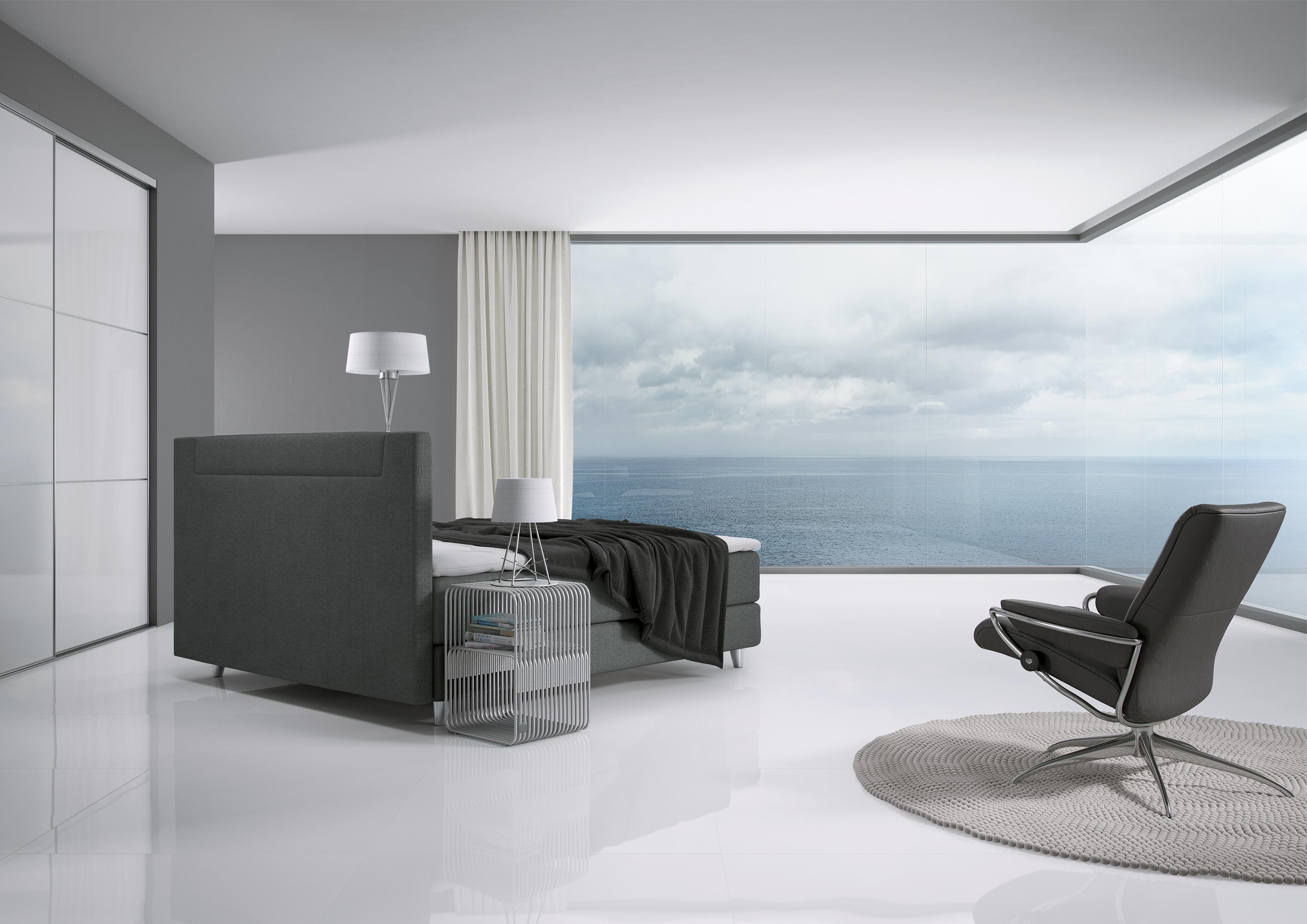 boxspringbetten vor dem esche. Black Bedroom Furniture Sets. Home Design Ideas